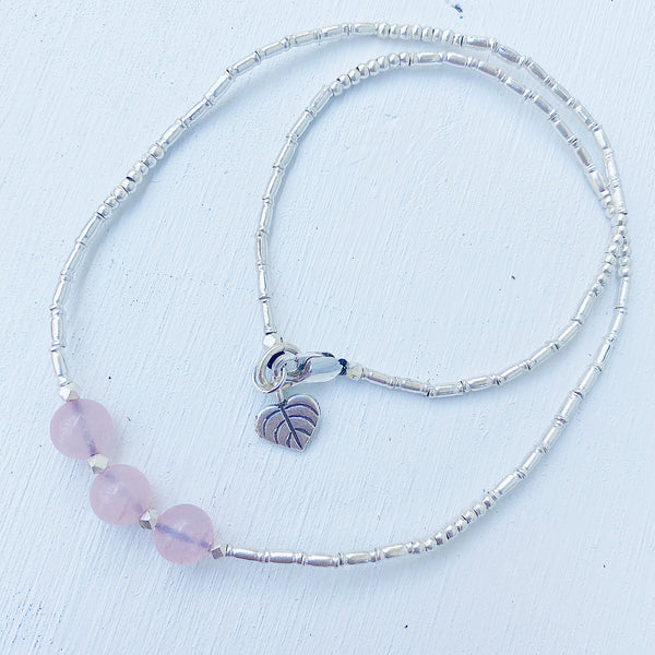 ROSE QUARTZ ETERNAL NECKLACE