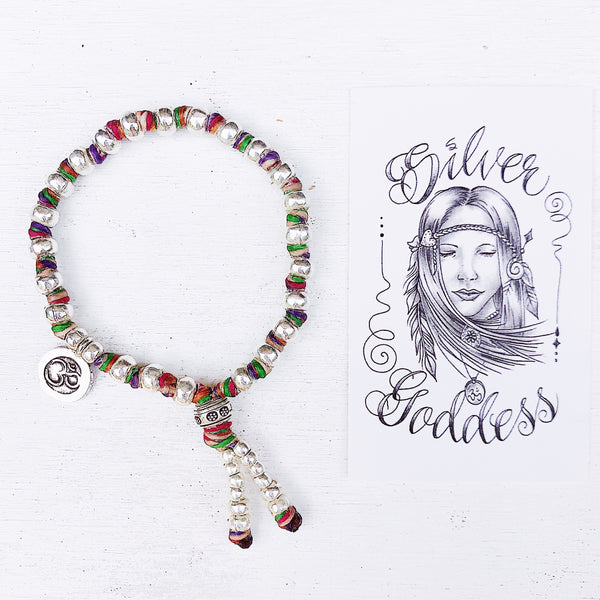 GYPSY SPIRIT MULTI COLOURED JOURNEY BRACELET