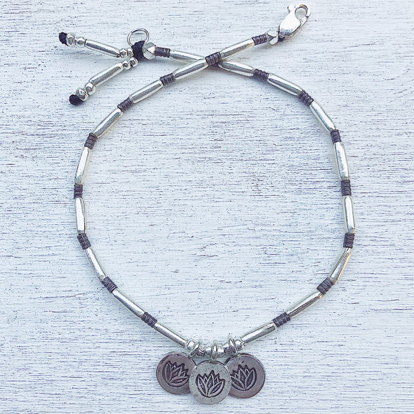 LOTUS TRILOGY ANKLET