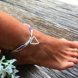 AMETHYST PROTECTION ANKLET