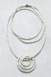CIRCLES OF ETERNAL LOVE NECKLACE
