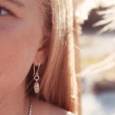 SWEET LITTLE FEATHER EARRINGS