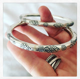 AZTEC BANGLE 65mm  - LARGE