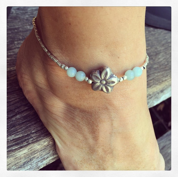 FLOWER GODDESS ANKLET