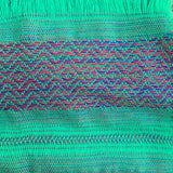 "100% COTTON TRADITIONAL ""KAREN HILL TRIBE"" SCARF - GREEN"