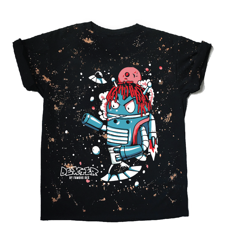 Dexter's Space Robot T-shirt - Bleach