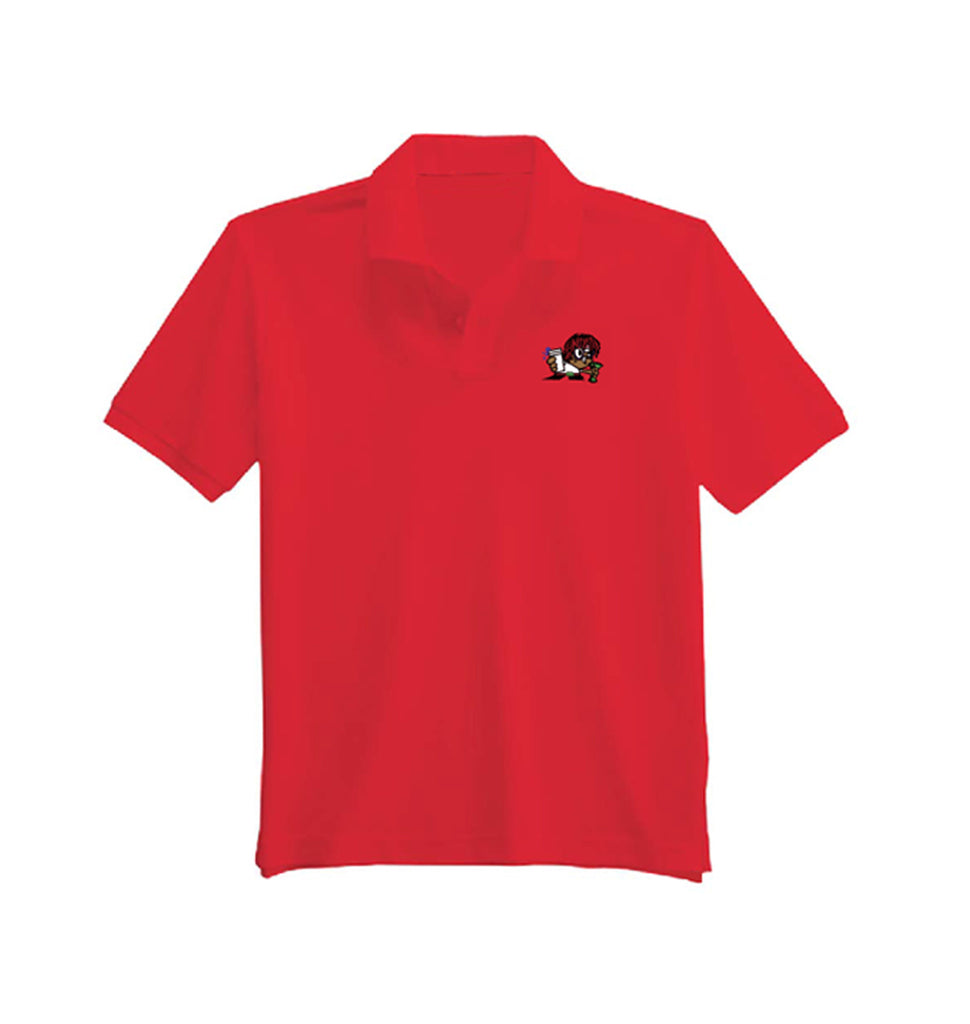 Dexter's Lab Polo - Red