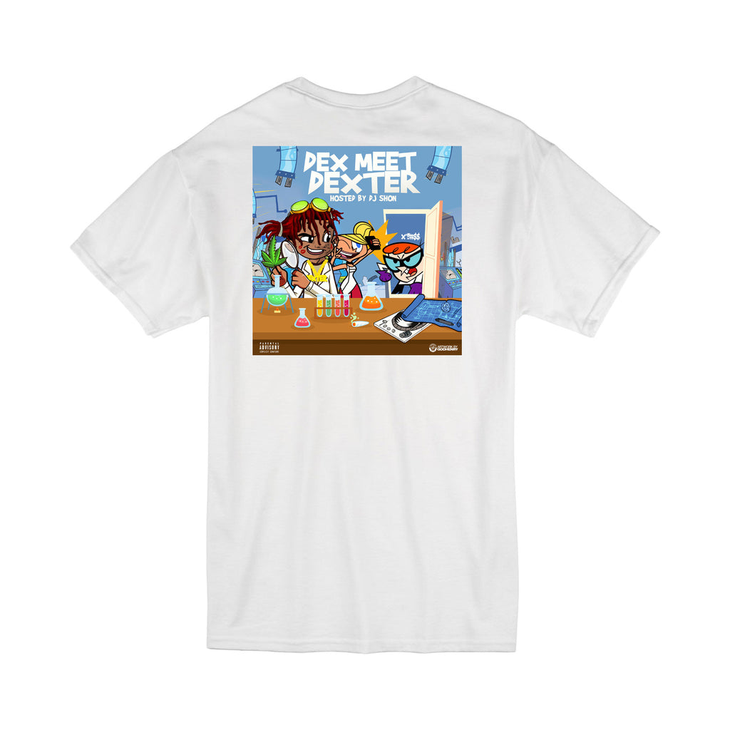 Dex Meet Dexter T-shirt - White
