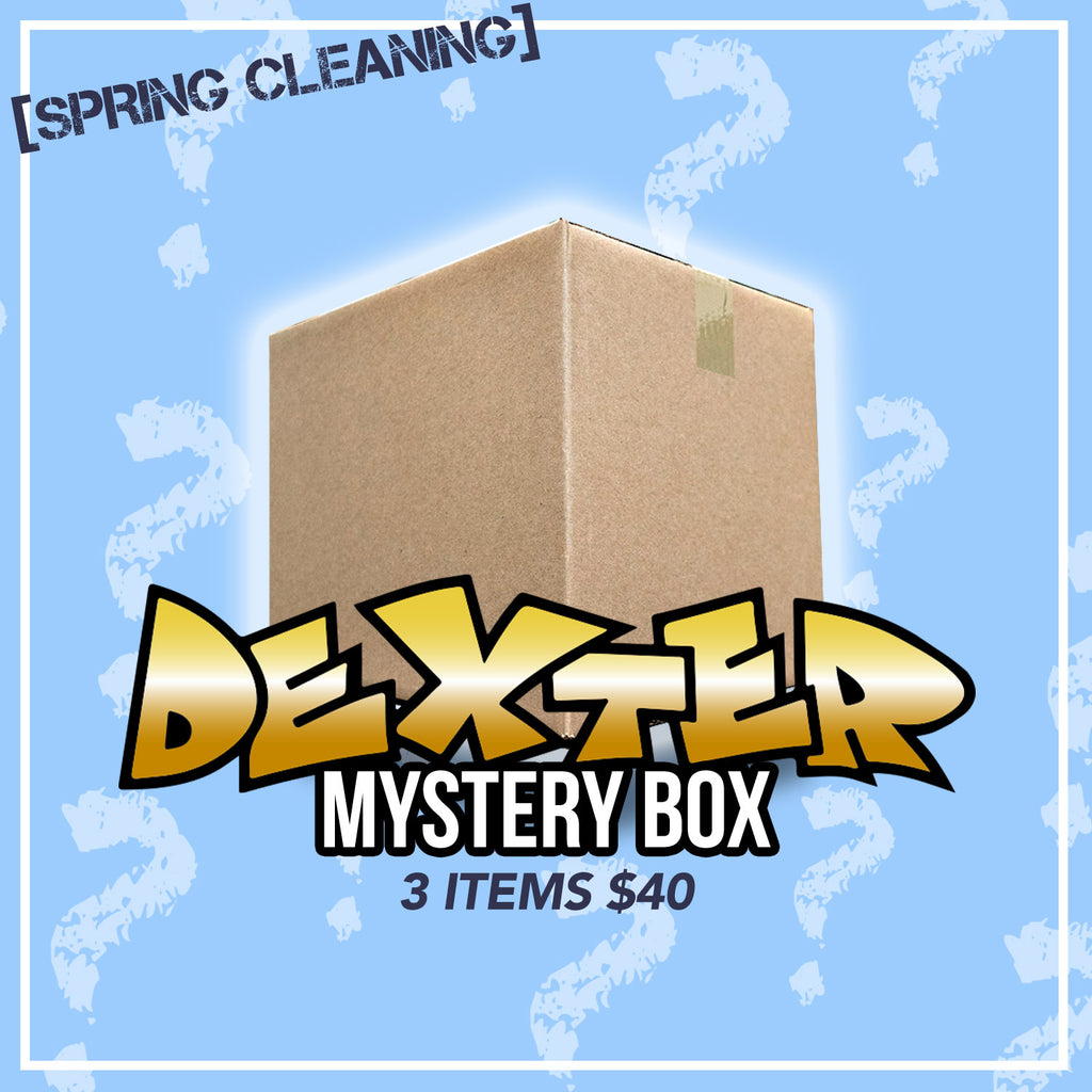 MYSTERY BOX - 3 ITEMS OR $40 VALUE *LIMITED EDITION*