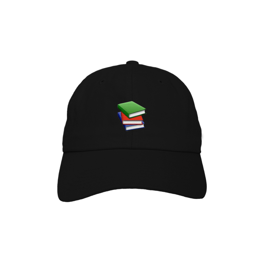 Read About It Dad Hat - Black
