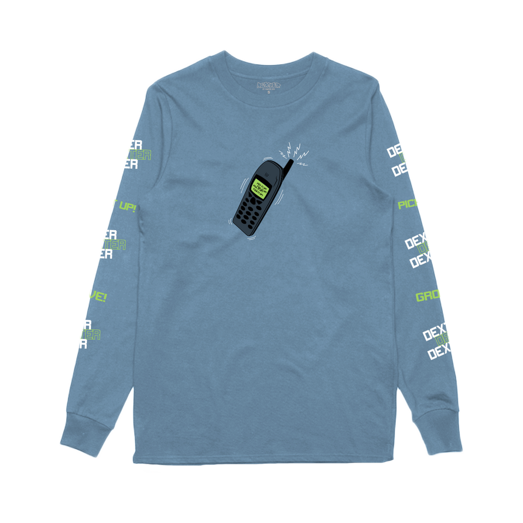 Pick It Up Long Sleeve - Blue