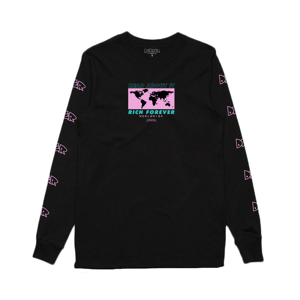 Dexter Worldwide Long Sleeve - Black