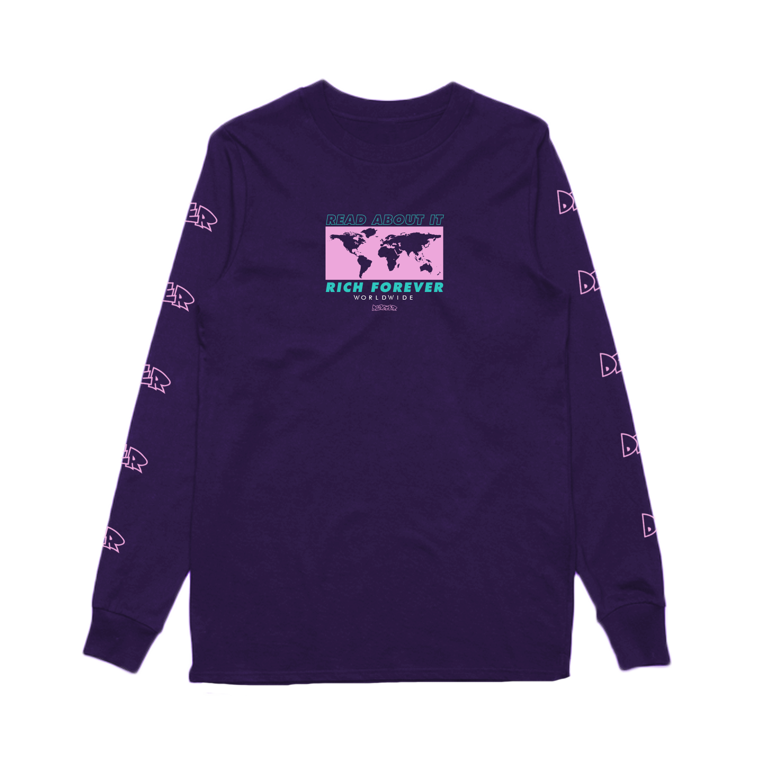 Dexter Worldwide Long Sleeve - Purple