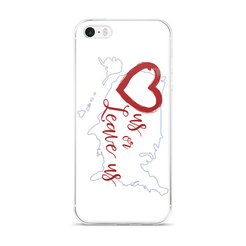 LuvUS iPhone case