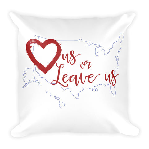 LuvUS - Logo Pillow
