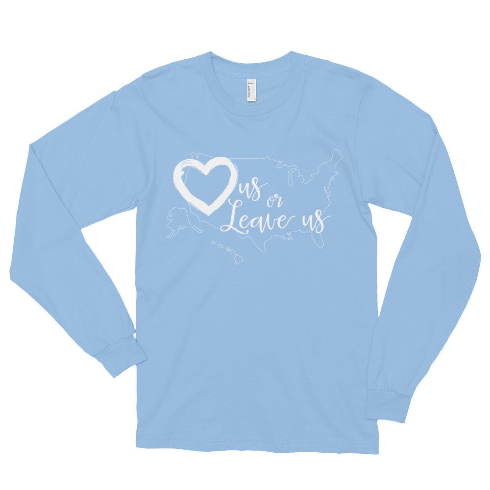 LuvUS Long sleeve t-shirt (unisex)