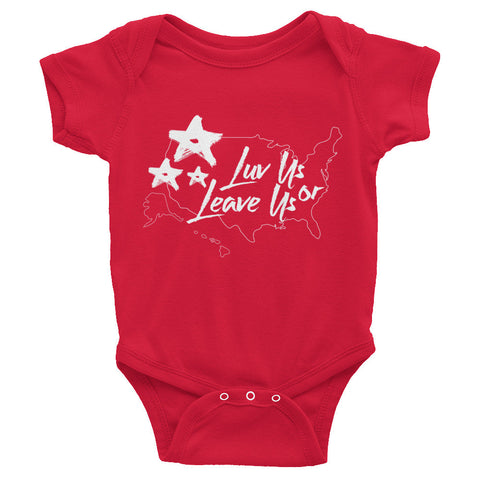 LuvUS Infant short sleeve one-piece