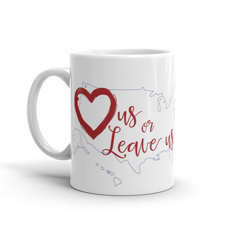 LuvUS Mug Red Heart