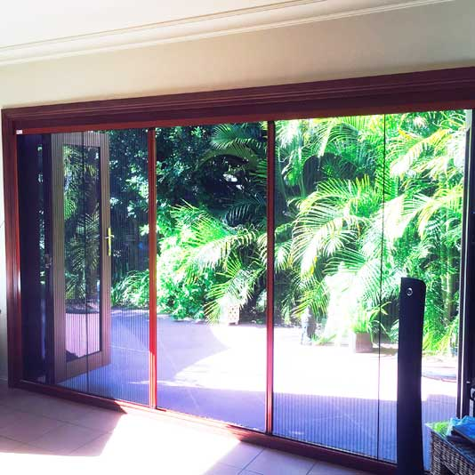 Flyscreens For French Doors: Retractable Fly Screens For BiFolds Sliding & French Doors