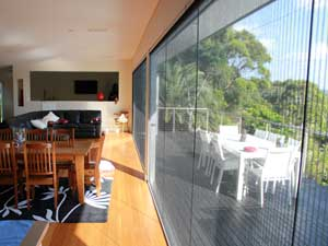 Slimline Retractable Fly Screen