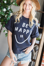 Be Happy Graphic Tee