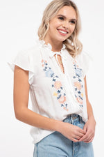 Hometown Top - Ivory