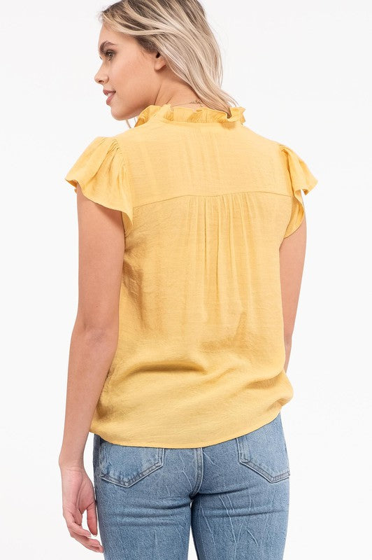Hometown Top - Light Mustard