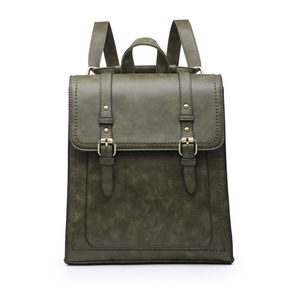 Kat Convertible Backpack- Olive