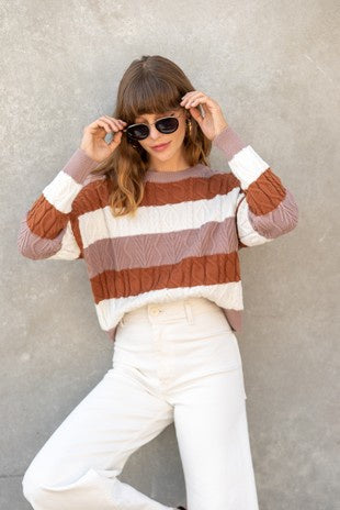 Walk It Out Sweater