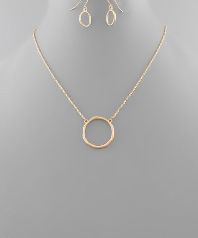 Maui Circle Necklace