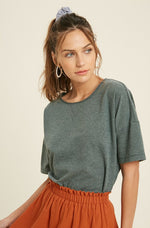 Roxanne Cropped Tee