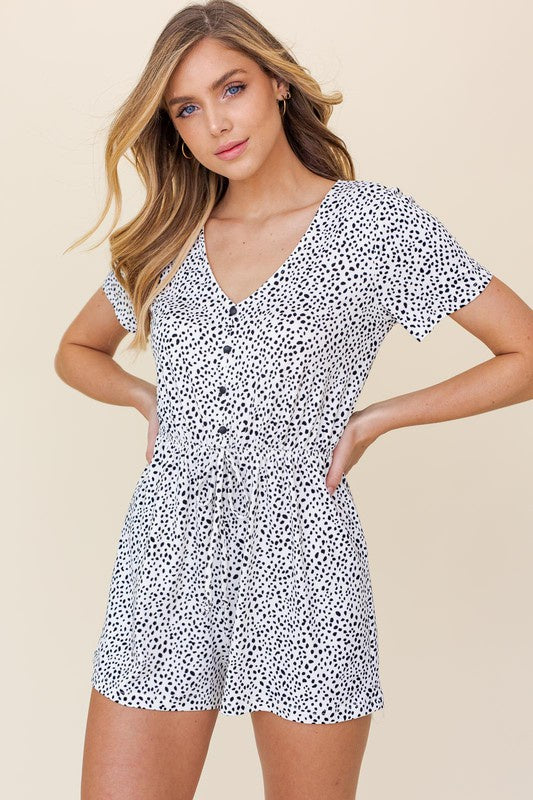 On The Road Romper