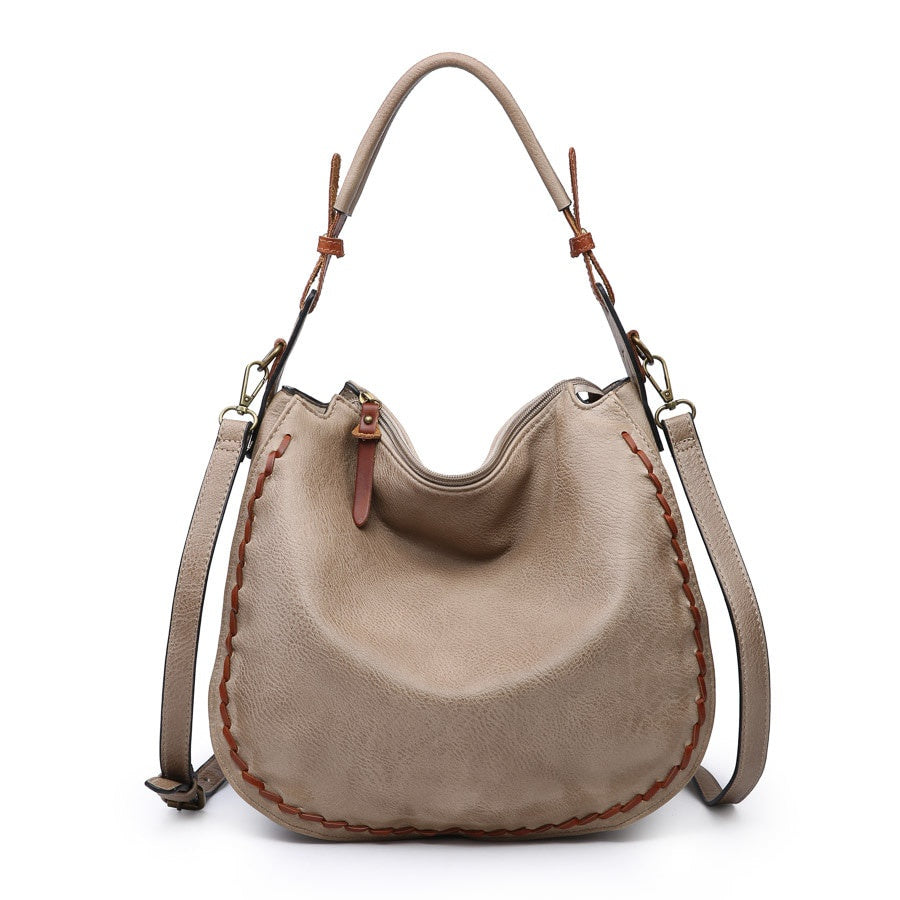Dallas Hobo Bag- Taupe