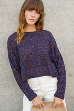 Days Go By Sweater- Navy