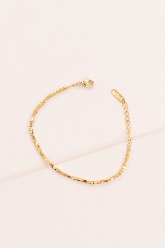 Always a Dreamer Bracelet- Gold