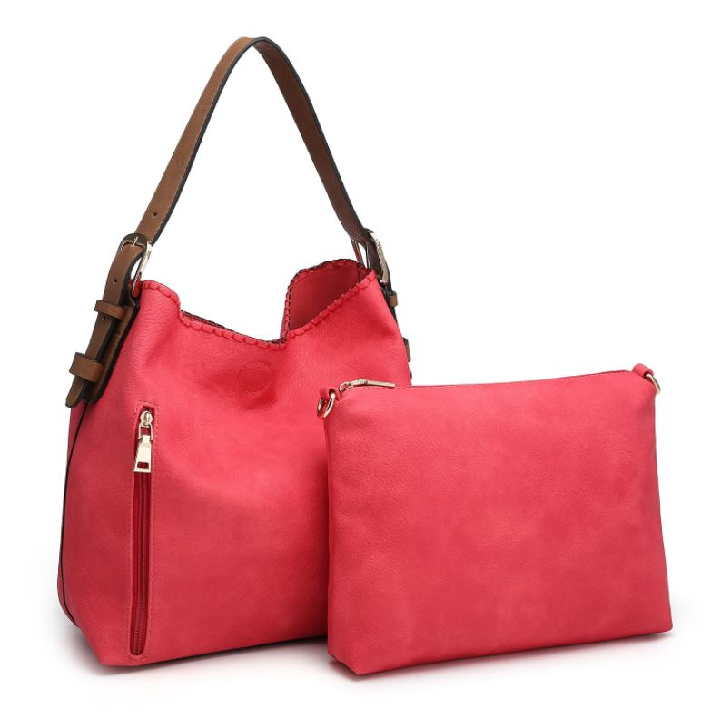 Alexa Hobo Bag 2-in-1* Hot Pink