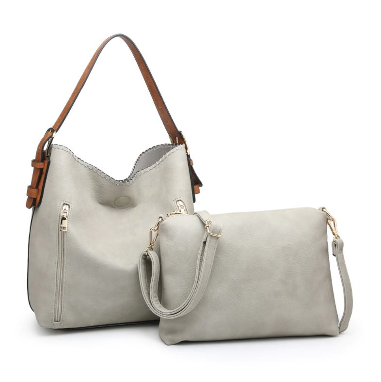 Alexa Hobo Bag 2-in-1* Grey