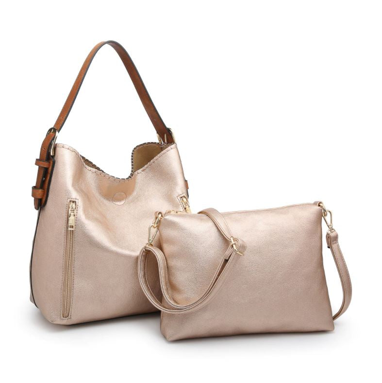 Alexa Hobo Bag 2-in-1* Rose Gold