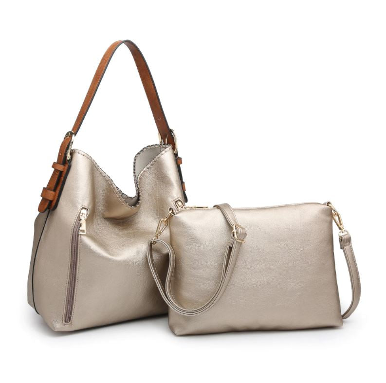 Alexa Hobo Bag 2-in-1* Silver Gold