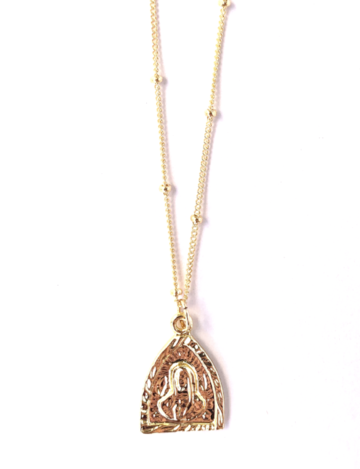 TRIANGLE MARY NECKLACE