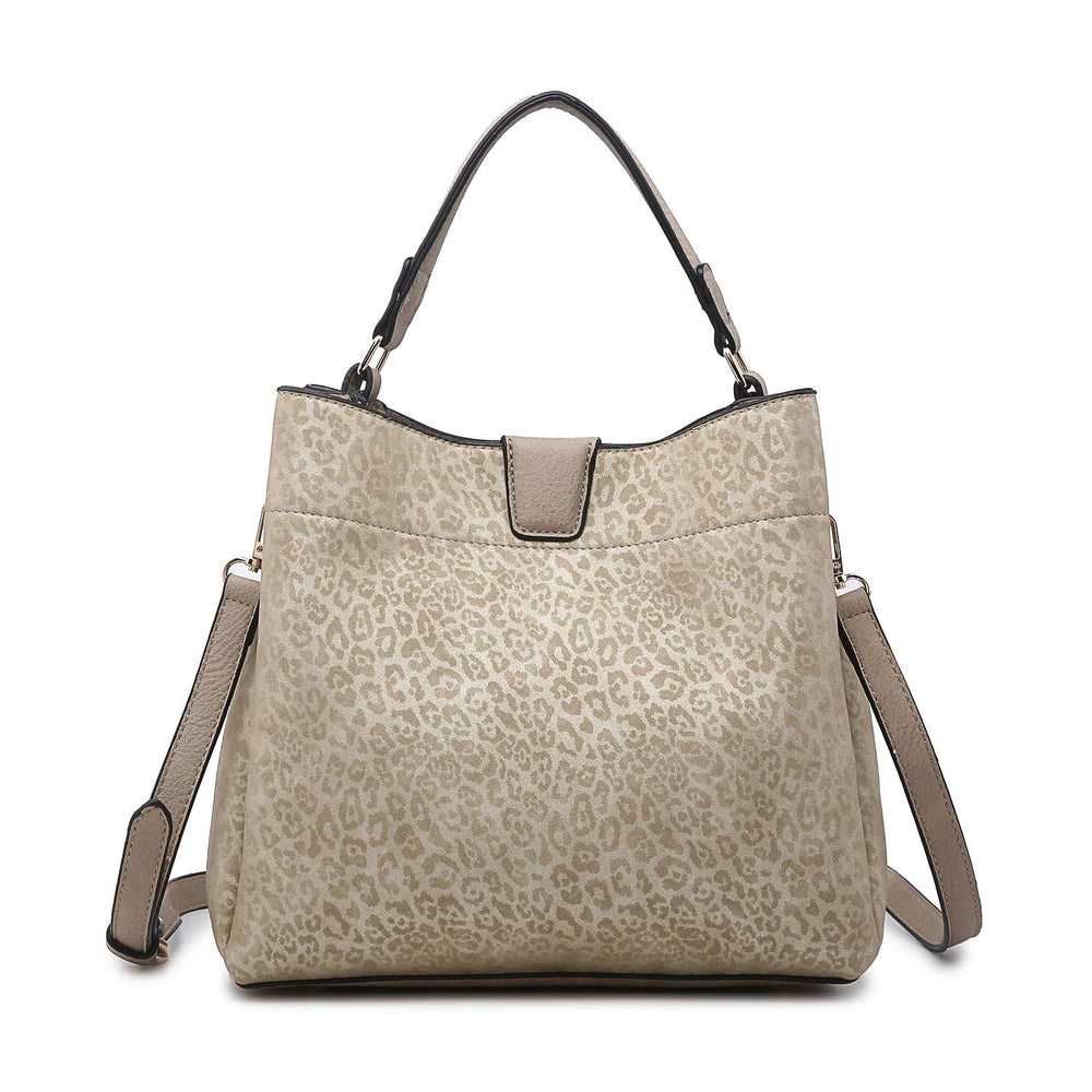 Tati Hobo Bag- Gold Cheetah