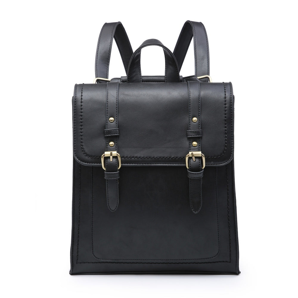 Kat Convertible Backpack- Black