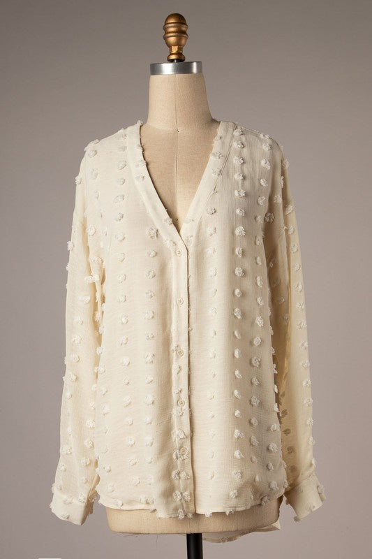 Amber Top- Ivory
