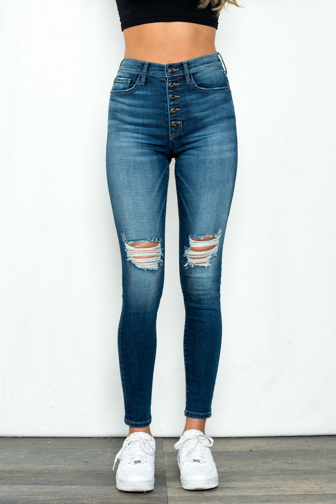 Allison Jeans- Dark Wash