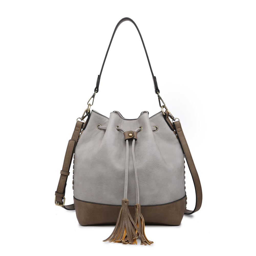 Marah Bucket Bag- Grey