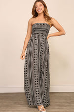 Come Get It Maxi - Ivory/Black