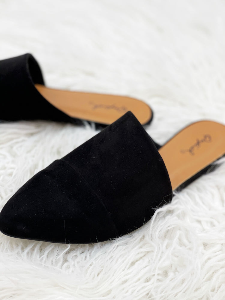 Evie Slides - Black