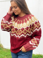 AUTUMN DAY SWEATER