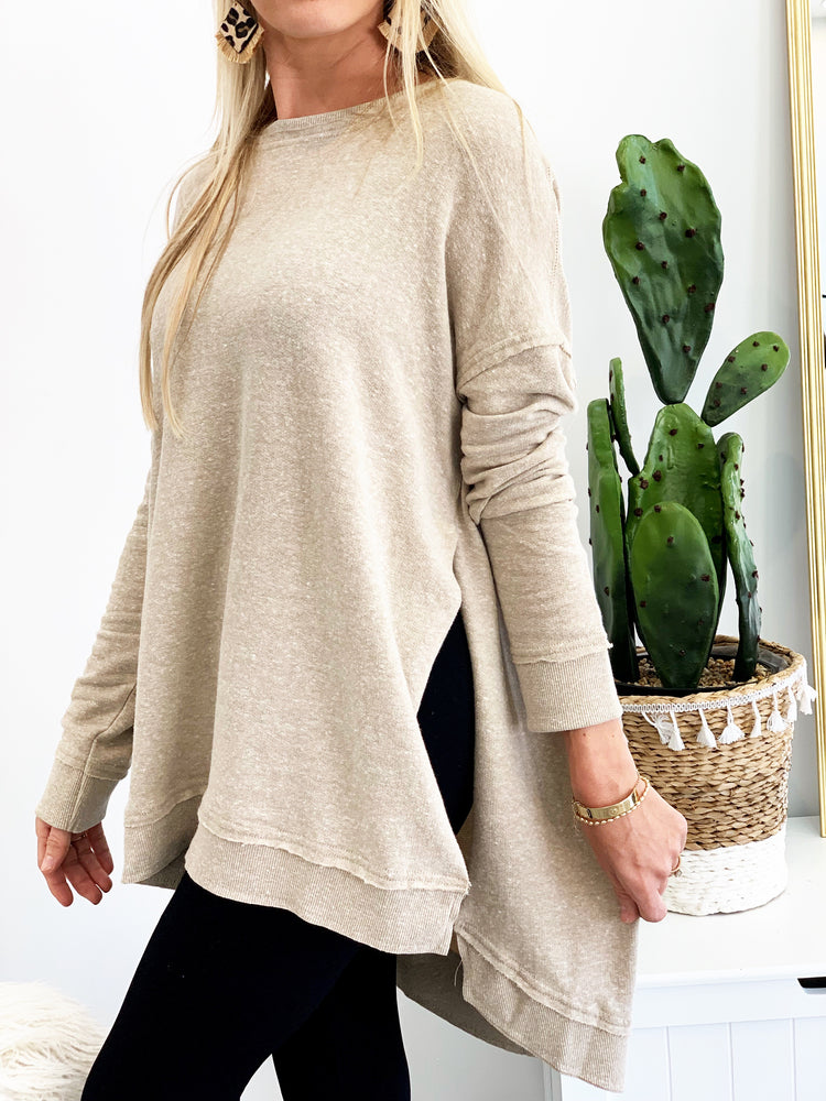 THE TRIBLEND VACAY PULLOVER