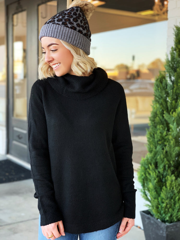 Demi Sweater- Black